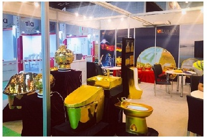 V+ LUXURY BY HOA BINH GROUP - STAND RASHID D189 AT THE BIG 5 DUBAI 26-29/11/2018