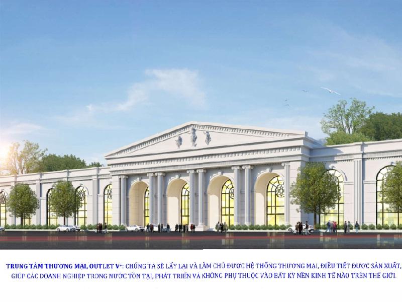 Doanh nhân Nguyễn Hữu Đường và ý tưởng xây dựng trung tâm buôn bán lớn nhất Việt Nam, rẻ nhất thế giới